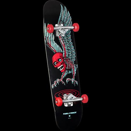 Powell Peralta Funshape Winged Skull Custom Complete Skateboard -  8.4 x 31.5