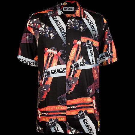 Powell Peralta Hawaiian Print Shirt - Black