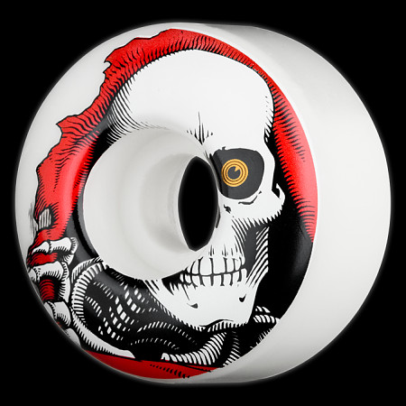 Powell Peralta Ripper 54mm 97a - White (4 pack)