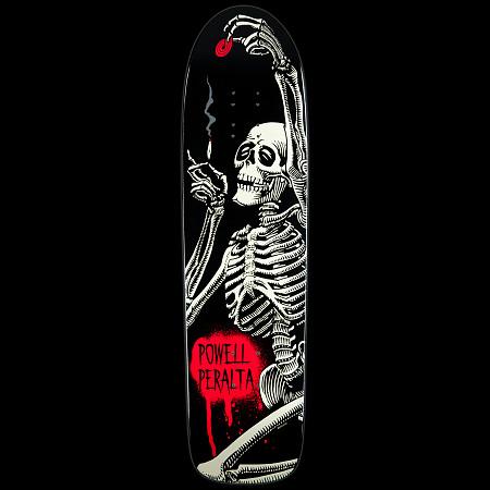 Powell Peralta Deck Funshape Hippie Skeleton - 8.4 x 31.5
