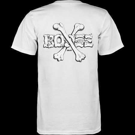 Powell Peralta Cross Bones T-shirt - White
