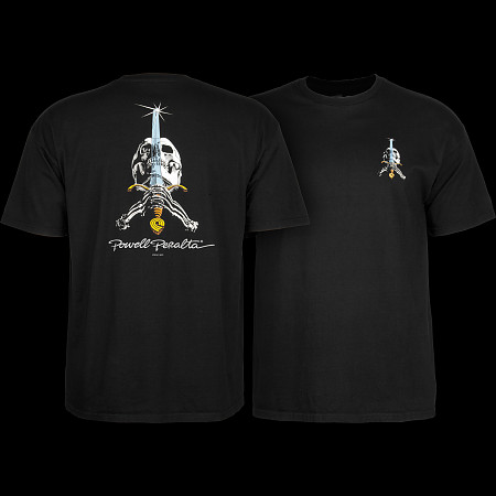 Powell Peralta Skull & Sword T-shirt - Black