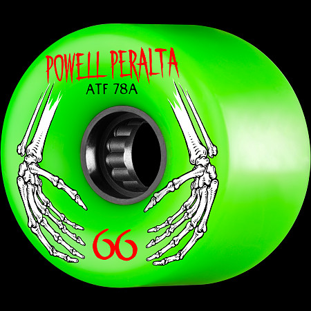 Powell Peralta ATF 66mm 78A Wheel Green
