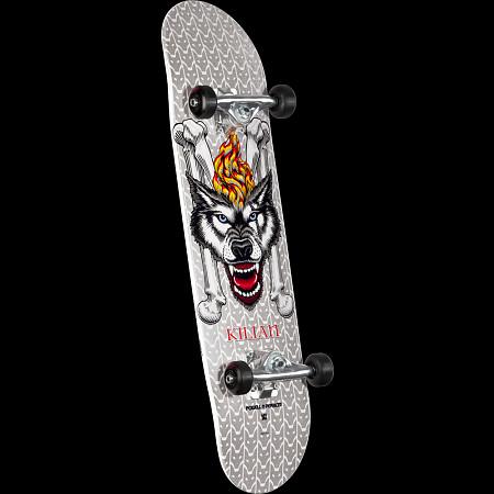 Powell Peralta LIGAMENT Kilian Martin Wolf 2 Custom Complete Skateboard -  7.75 x 31.75