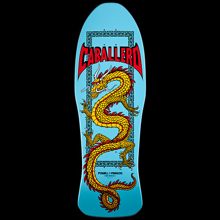 Powell Peralta Caballero Chinese Dragon Deck Light Blue - 10 x 30