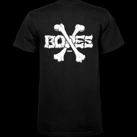 Powell Peralta Cross Bones T-shirt - Black