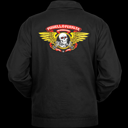 Powell Peralta Winged Ripper Jacket - Black