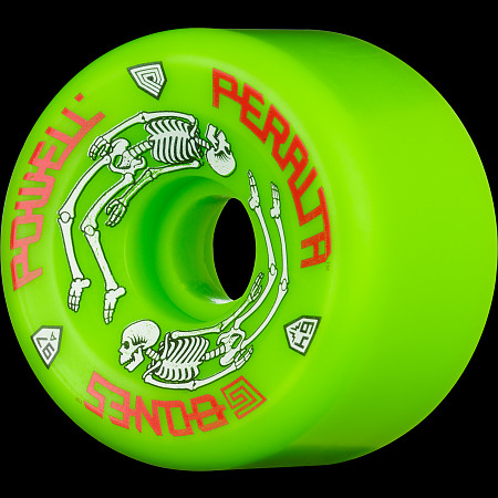 Powell Peralta G-Bones 64mm 97a - Green (4 pack)