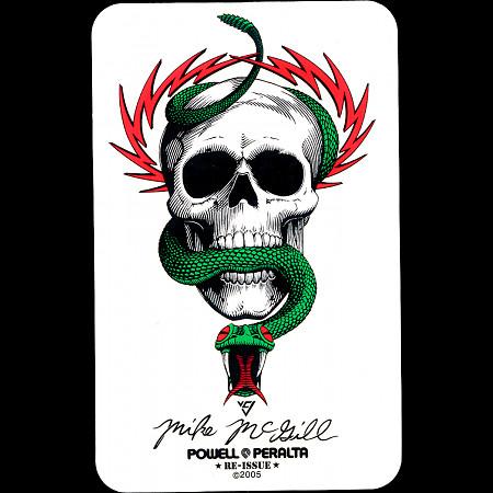 Powell Peralta Mike McGill Skull & Snake Sticker (Single)