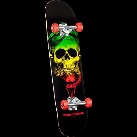 Powell Peralta Skull & Snake Complete Skateboard Red - 8 x 32.125