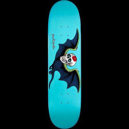 Powell Peralta Bat Skull Turquoise Deck - 8.25 x 31.6