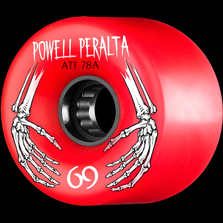 Powell Peralta ATF 69mm 78A Wheel Red