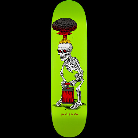 Powell Peralta Explode Lime Deck - 8.38 x 31.7