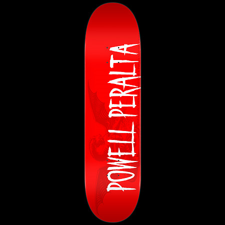 Powell Peralta LIGAMENT Logo Deck Red - 8 x 32.125