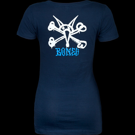 Powell Peralta Woman's T-Shirt Vato Rat Navy
