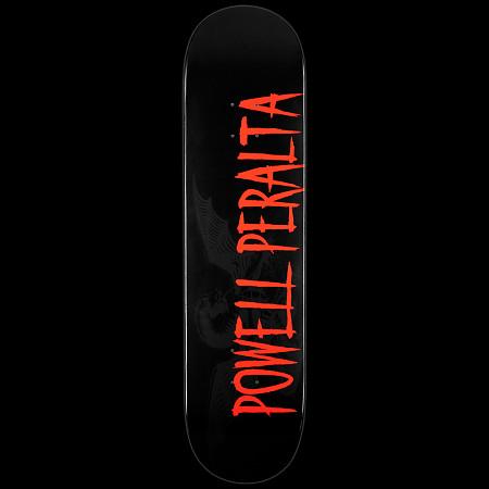 Powell Peralta LIGAMENT Logo Deck Black - 8.25 x 32.5