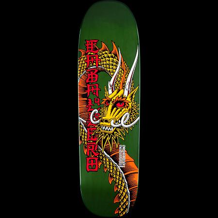 Powell Peralta Pro Caballero Ban This Dragon Deck Green - 9.265 x 32