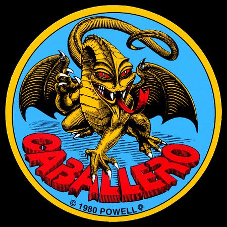 Powell Peralta Cab Original Dragon Sticker (Single)