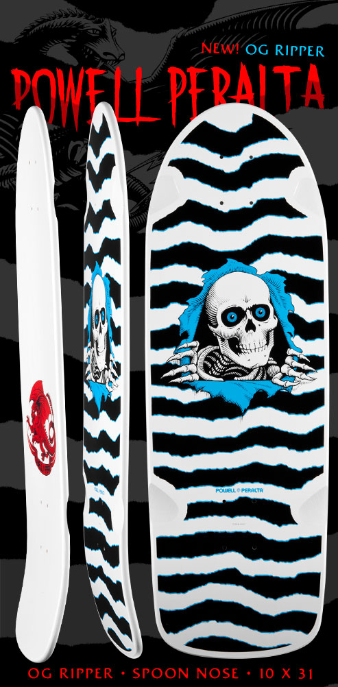 Powell Peralta OG Ripper Deck - 10 x 31